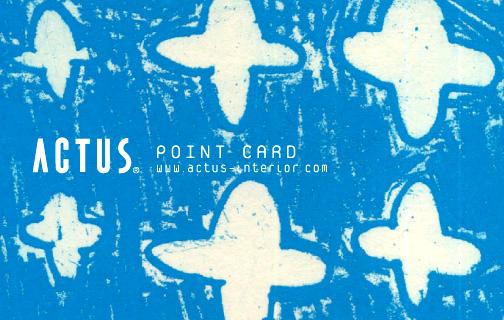 ACTUSポイントカード